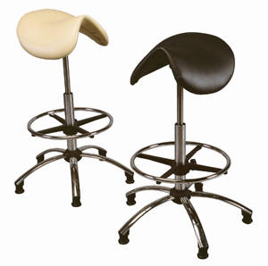 a range of saddle stools available for different applications